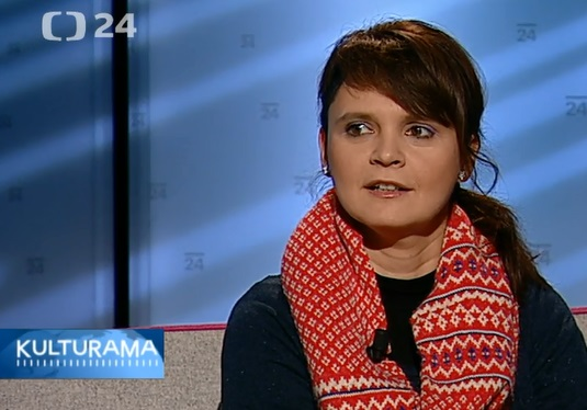 Czech TV – ČT24 – Kulturama – interview