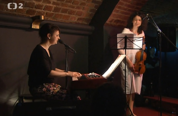 Czech TV – ČT24 – Terra musica with Iva Bittová