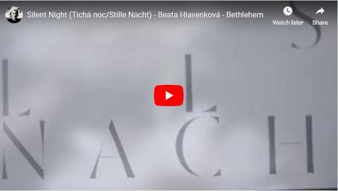 New video – Tichá noc from album Bethlehem