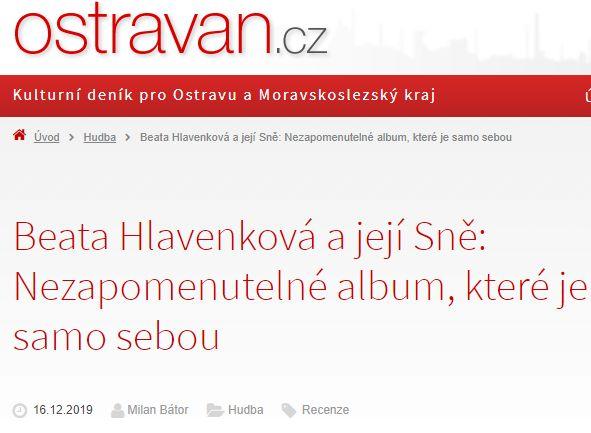 Recenze Milana Bátora – Ostravan.cz