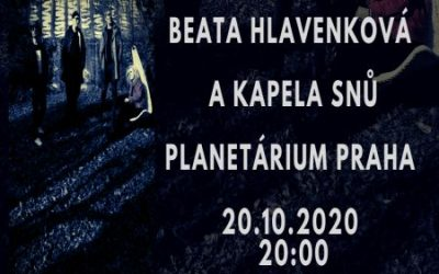 Concert in Prague Planetarium 20.10.2020