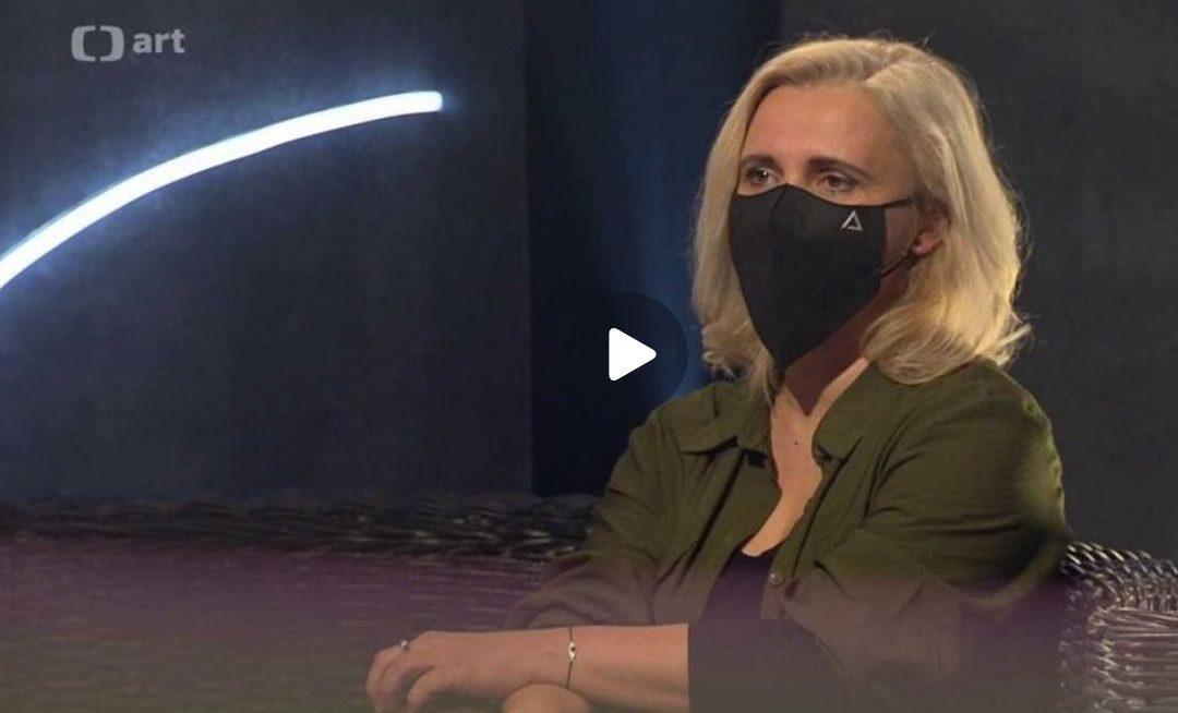 Czech TV – Interview for ArtZóna with Saša Michailidis